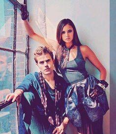 Paul Wesley & Nina Dobrev - Vampire Diaries