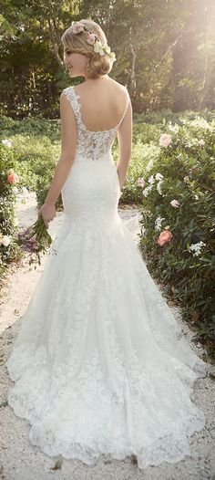 essense of australia lace wedding dresses with beautiful back details for 2016