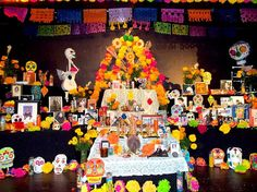altars for day of the dead | Photo of the Day (of the Dead): A Colorful Altar: LAist