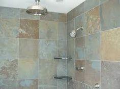 slate bathroom - Google Search