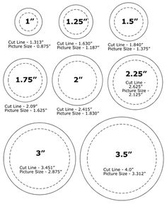 pinback button sizes template