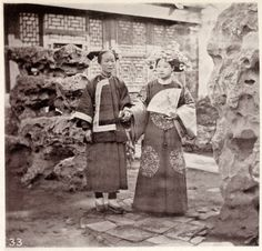 1873.......A MANCHU BRIDE..........ILLUSTRATIONS OF CHINA AND ITS PEOPLE.......PHOTO BY JOHN THOMSON.........SOURCE WELLCOMECOLLECTION.ORG.....