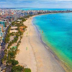 Praia de Pajuçara Maceió Alagoas