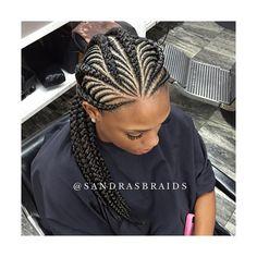 Fishbone Ghana braids #houstonbraider #houstonstylist #braider #cornrow #ghanabraids