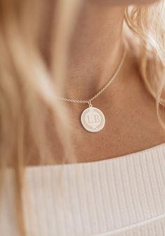 Initial Pendant DF Necklace .Very Special Piece...Unique