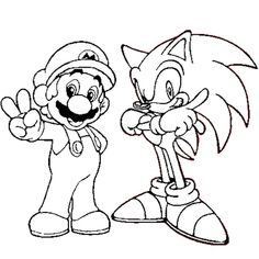Looking for a Coloriage Mario Et Sonic. We have Coloriage Mario Et Sonic and the other about Gratuit Coloriage it free. Monster Coloring Pages, Colouring Pages, Coloring Books, Super Mario Coloring Pages, Mario Crafts, Super Mario Art, Rena, Free Printable Coloring Pages, Design Reference