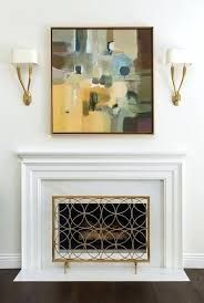 Image result for fireplace mantel that looks like a picture frame