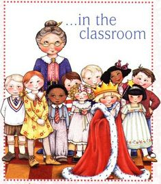 In the classroom! http://www.pinterest.com/cekh/mary-engelbreit/