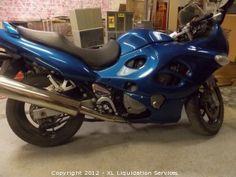 2006 Suzuki Katana 600 Motorcycle