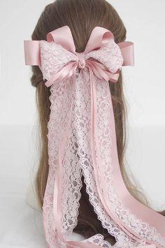 Cheveux kawaii français dentelle tissu par FairybyFoxie sur Etsy
