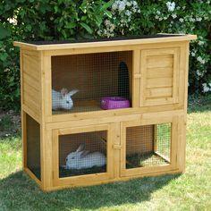 1000 images about clapier lapin on pinterest rabbit. Black Bedroom Furniture Sets. Home Design Ideas