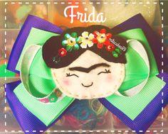 Hey, I found this really awesome Etsy listing at https://www.etsy.com/listing/249581275/frida-hair-bow Frida hair bow, felt craft