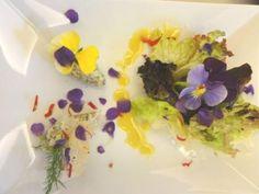 Kochen mit essbaren Blüten
