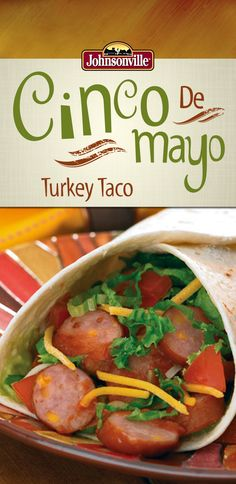This Johnsonville Taco Turkey is fast and easy! You'll be eating in under 30 minutes or less!