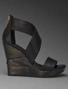 Diane Von Furstenberg opal wedge sandal