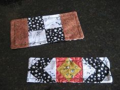 quilted bookmarks | Handmade gifts / Super simple - quilted bookmarks!