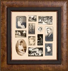 Multiple Openings      Mats can be cut with more than one window opening. Doing so allows you to place more than one picture in a frame. This works especially well with things such as family or vacation photos, stamp collections or anything else you want to display together.