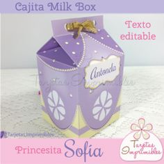 Princesita Sofia Cajita milkbox
