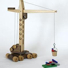 Toy Crane Plan - www.rockler.com