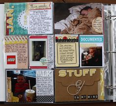 I like the stuff on my mind envelope - I could actually use that this week for some stuff