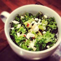 Kale, Apple, Lemon & Ginger Salad