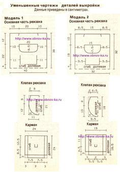 Рюкзак своими руками чертеж тут http://obnov-ka.ru/ryukzak-svoimi-rukami