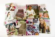 Enter to win the Cleaning Off the Book Shelf Giveaway! One lucky winner will receive one copy each of Hats, Scarves & Cowls, Modern Motifs, 99 Granny Squares, Healing Shawls, Crochet Tops, Scarves & Cowls, Slippers for the Family, Charity Guide for Crocheters, Dare to Be Square Afghans, Shawls You'll Love and Boho Chic Crochet Ponchos. The deadline to enter is May 29, 2016 at 11:59:59 p.m. Eastern Time.