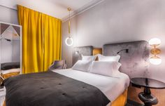 Handsome Hotel, Paris - Design Agence DESJEUX DELAYE • Paris 1er, Les Halles #Hotel #Paris #Handsome #Room #Deco #Design