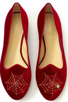 CHARLOTTE OLYMPIA FLATS @Michelle Flynn Coleman-HERS $350