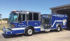 Weslaco TX Fire Engine. #Setcom #Ferrera #Pumper #Fire #FireDept #Apparatus new deliveries #BigBlue