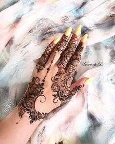 Modern Henna Designs, Finger Henna Designs, Mehndi Designs 2018, Mehndi Designs For Girls, Mehndi Design Photos, Wedding Mehndi Designs, Mehndi Designs For Fingers, Dulhan Mehndi Designs, Mehndi Designs For Hands