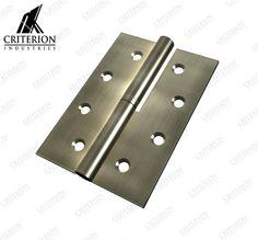100 x 75 Std Butt Hinge (loose pin) Butt Hinges, Lift Off, Timber Door, Left Handed, Other Accessories, Doors, Gate
