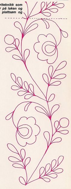 Crewel Embroidery - Long & Short as Soft Shading in Colors - Embroidery Patterns Tambour Embroidery, Hand Embroidery Patterns, Ribbon Embroidery, Cross Stitch Embroidery, Machine Embroidery, Mexican Embroidery, Free Motion Quilting, Fabric Painting, Quilting Designs
