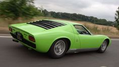 Arguably the first supercar ever, the Lamborghini Miura not only looked great, but with a screaming ... - Newspress
