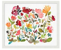 floral print wall art http://rstyle.me/n/ww8nebna57