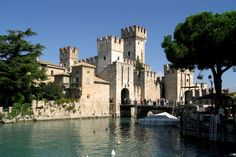 Scaligerburg in Sirmione am Gardasee