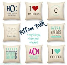 Love the Customizable Wall Art and Pillows in the Promising Picks ...