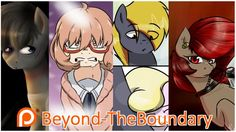 Support Beyond-TheBoundary creating Art
