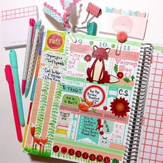 Erin Condren Planner via asprinkleoflovely