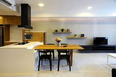 Contemporary | Dining Room | V&L ApartAment | Kemang Village | Tre Studio