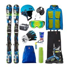 There was a snowboard set for a woman, now its time to make set for your man. In addition to Elan skis and Nordica boots, set consists of Jack & Jones Dakota jacket, Napapijri ski pants, Dakino gloves, helmet Roxy, goggles Gucci, Jansport backpack. Gadgets: Action Cam Midland XTC-400, headphones Midland, thermos Innate BowValley. Extras: Dermatone lip balm, Garnier hand cream. Enjoy :)