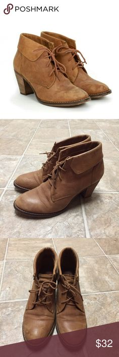 Steve Madden Jasper Booties Guaranteed authentic. Excellent used condition! Flaws include: typical wearing that you would find in the soles and underneath but nothing major such as rips, stains or holes.  Super cute at an affordable price. Ask to bundle for a discount. No free ship!  *shoes do not come in original box, just priority box/bag for shipping. Steve Madden Shoes