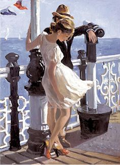 Sherree Valentine-Daines, 1956 ~ Impressionist painter