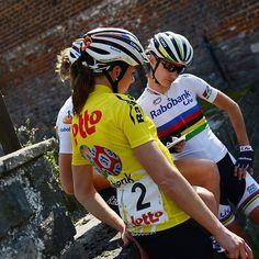 Planning victory strategy #raboliv #lottobelisolbelgiumtour #cycling