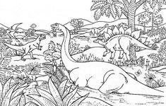 Coloriage Vrai Dinosaure.115 Meilleures Images Du Tableau Dinosaures Dinosaurs Prehistoric