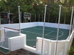 #hockey #basketball #sports #backyard #backyardcourt
