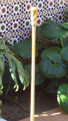 Baston nº 9  En madera de boj catalan. Coleccion   rcuetosevilla@gmail.com Málaga