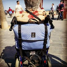 #valeriasbarcelona #valeriasbags4wchair #happywheelchair #givecolourtoyourlife #barcelona #wheelchaircommunity http://ift.tt/2na2wb0