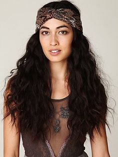 Free People turban headband. Can I pull this off?