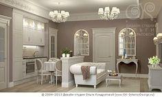 Дизайн квартиры-студии в оттенках кофе с молоком http://www.ok-interiordesign.ru/blog/studio-flat-interior-design-rules.html